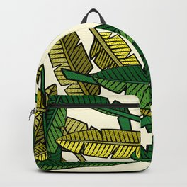 Botany: Banana Leaves Backpack