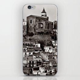 Sicilian Mountain Village iPhone Skin