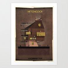 04_ARCHIDIRECTOR_alfred hitchcock Art Print