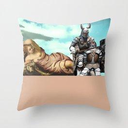 'no mountain is taller than my pride' Throw Pillow