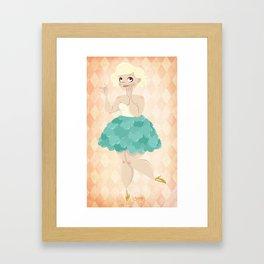 Untitled (Cupcake Dress) Framed Art Print