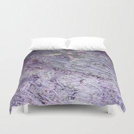 Purple-Starfish Duvet Cover