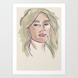 Saoirse Art Print