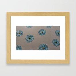 Blue is the warmest color Framed Art Print