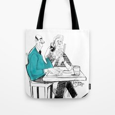 the old couple Tote Bag