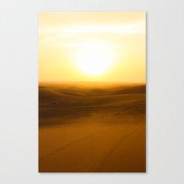 Sizzling Dubai Canvas Print