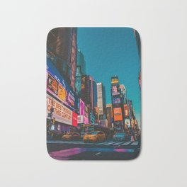 City Lights NYC (Color) Bath Mat