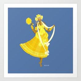 ORIXAS_ oxum Art Print