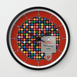 La Machine à Gomme Balloune Wall Clock