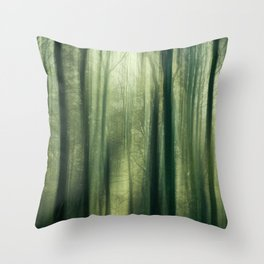 Forest of Surrealism II Throw Pillow