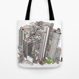 New York View Tote Bag
