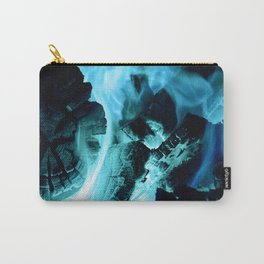 Blue Blaze Carry-All Pouch
