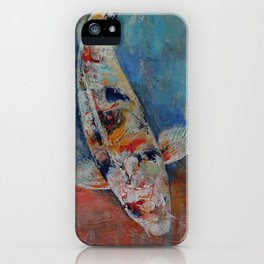 Japanese Koi iPhone Case