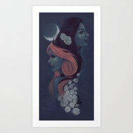 Practical Magic Art Print