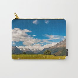 Beautiful Pastoral Alpine Landscape in New Zealand Carry-All Pouch