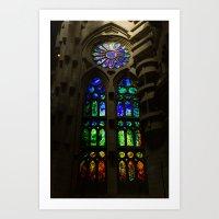Sagrada Familia #3 Art Print