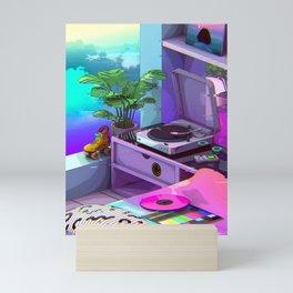 Vaporwave Aesthetic Mini Art Print