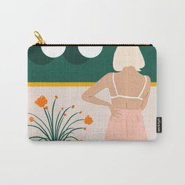 Texting #painting #illustration Carry-All Pouch