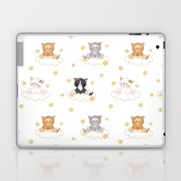Cat Kitten Baby Girl Nursery Room Decor Laptop & iPad Skin