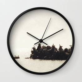 Morning Breeze Wall Clock