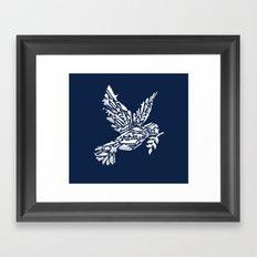 Peace? Framed Art Print