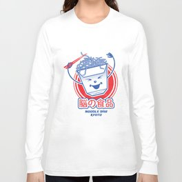 Brain Food Noodle Bar Tokyo Long Sleeve T-shirt