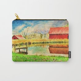 Farm Reflections Carry-All Pouch