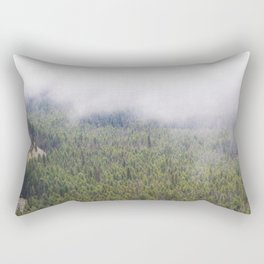 Forest From Above Rectangular Pillow