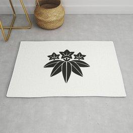 Minamoto Clan · Black Mon Rug