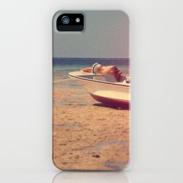 Up and Under iPhone Case