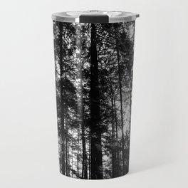 Canadian tree silhouette Travel Mug