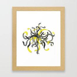 Swirling Ribbons Framed Art Print