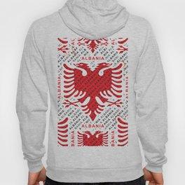 Albanian flag pattern 4 Hoody
