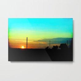 Sunset 09-02-16 Abilene, Texas Metal Print