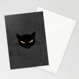 Evil Kitty Stationery Cards