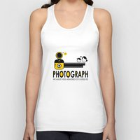photograph Tank Tops featuring PHOTOGRAPH by Ain Rusli