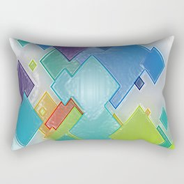 Original Abstract Duvet Covers by Mackin & MORE Rectangular Pillow