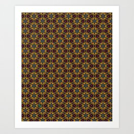 You're Kilim Me! Art Print