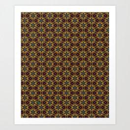 You're Kilim Me! Art Print