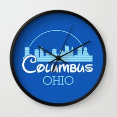 Columbus, Ohio Wall Clock
