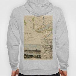 Map of Boston 1880 Hoody