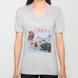 Akita Unisex V-Neck