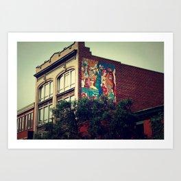 Montreal Abstract Art Print