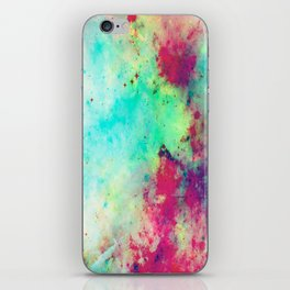 Join The Heavens - Abstract Space Painting iPhone Skin