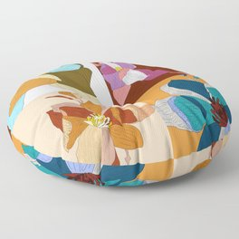 Bloom Floral Floor Pillow