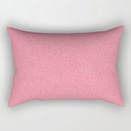 Dense Melange - White and Crimson Red Rectangular Pillow