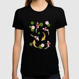Japanese Koi Fish Pond T-shirt