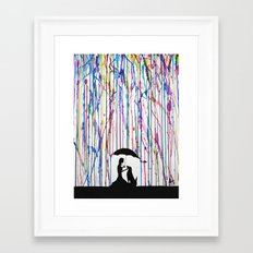 Sempre Framed Art Print