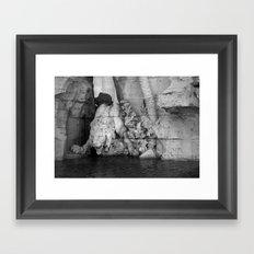 born in rome Framed Art Print