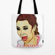Kim ugly crying Tote Bag